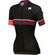 Sportful Diva Jersey Women black/coral fluo/bordeaux